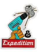 Expedition One Drill Sticker