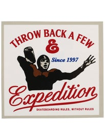 Expedition One Throw Back Sticker
