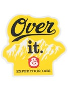 Expedition One Over It Sticker