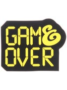 Expedition One Game Over Sticker