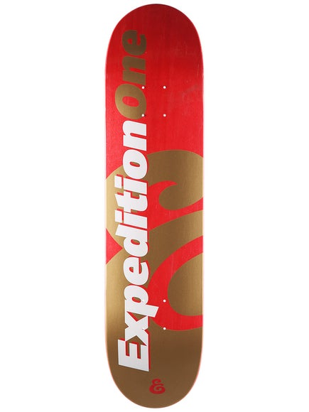 Expedition One Price Point Red Deck  7.63 x 31.5