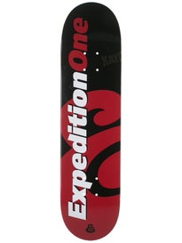 Expedition One Price Point Black/Red Deck 7.9 x 31.5