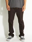 Expedition One Drifter Slim Chino Pants  Dark Brown