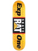 Expedition One Skate Rat Yellow Deck  8.0 x 32