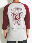 Expedition Trophy 3/4 Sleeve Henley Shirt
