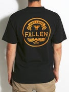 Fallen Skull & Bones Pocket T-Shirt
