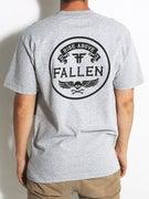 Fallen Skull & Bones Pocket T-Shirt