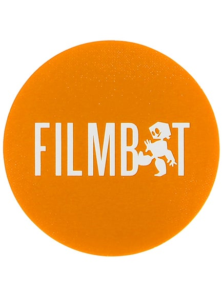 Filmbot Stoplight Sticker Orange