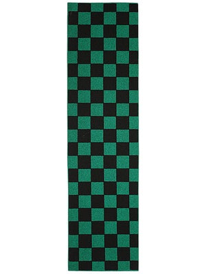 FKD Checkers Black/Green Griptape