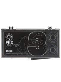 FKD Bearings Neoprene Shields ABEC 3
