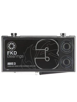 FKD Bearings Neoprene Shields ABEC 3