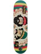 Flip Penny P2 Cheech & Chong Rasta Deck  8 x 31.5
