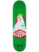 Flip Oliveira Cockrel Deck  8.13 x 32