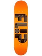Flip Odyssey Logo Tube Orange Deck  8.0 x 31.5