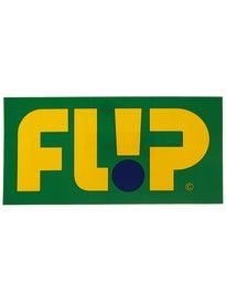 Flip Odyssey Logo 8 x 4 Sticker\  reen