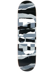 Flip Odyssey Torn Grayscale Deck  8.25 x 32.31
