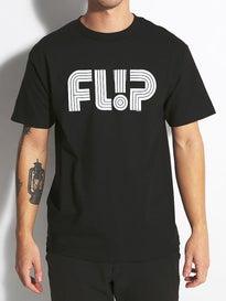 Flip Odyssey Tube Logo T-Shirt