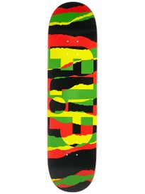 Flip Odyssey Torn Rasta Deck  8.13 x 32