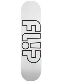 Flip Odyssey Whiteout Deck 8.0 x 31.5