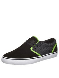 Fallen Slash The Easy Shoes  Black/Psych Green