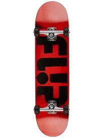 Flip Team Odyssey Stencil Red Complete 7.88 x 31.5
