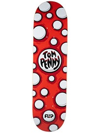 Flip Penny Pop Dots Red Deck  8.13 x 32