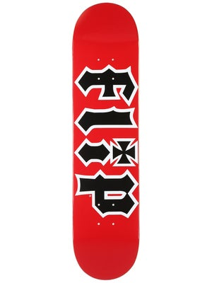Flip Team HKD Red Deck  7.5 x 31.25