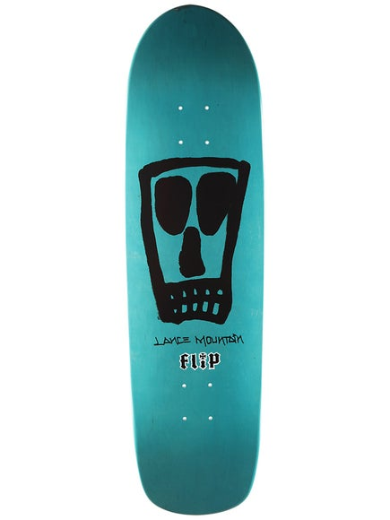 Flip Mountain Vato Skull Blue Deck 9.0 x 32.8