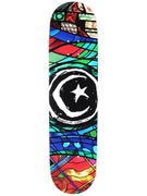 Foundation Star & Moon Stained Glass Deck 8.125 x31.875
