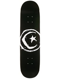 Foundation Star & Moon Black LG Deck 8.0 x 31.625
