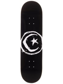 Foundation Star & Moon Black XL Deck 8.375 x 32.38