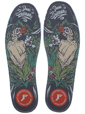 Footprint King Foam Hi Flat Insoles Dane Burman