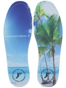 Footprint King Foam Hi Flat Insoles Beach