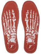 Footprint King Foam Flat Insoles Skeleton