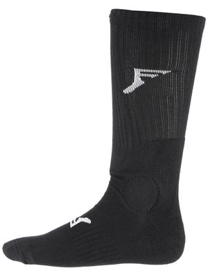 Footprint Knee Hi Painkiller Socks Black