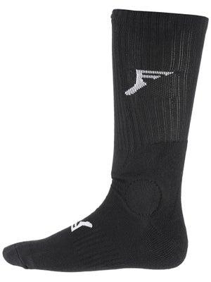 Footprint Knee Hi Painkiller Socks Black