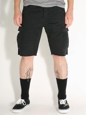 Fourstar Anderson Cargo Shorts Black 28