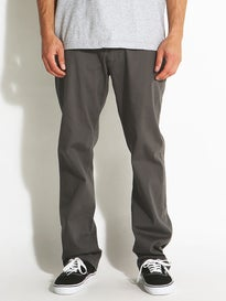 Fourstar Carroll Standard Chino Pants  Charcoal