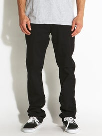 Fourstar Collective Straight Slim Jeans  Black