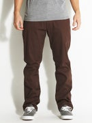 Fourstar Carroll Twill Standard Chino Pants  Cocoa