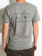 Fourstar Slant Bar Tri-Blend T-Shirt