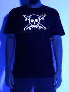 Fourstar Glow In The Dark Pirate T-Shirt