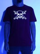 Fourstar Glow In The Dark Pirate T-Shirt