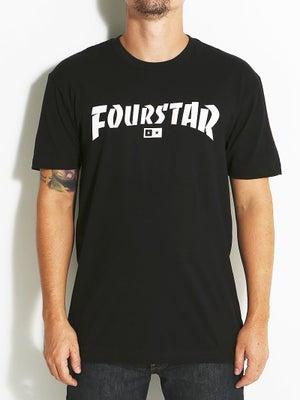 Fourstar Highspeed Tee Black SM