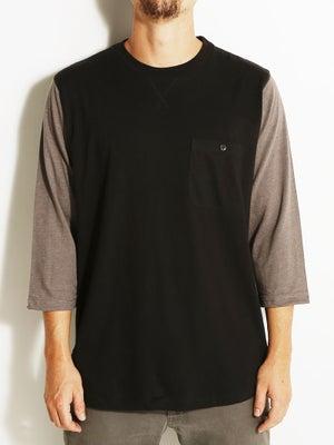 Fourstar Leavenworth 3/4 Sleeve Shirt Black SM