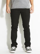 Fourstar Malto Straight Slim Drawcord Pants Black
