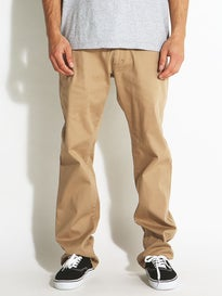 Fourstar Carroll Standard Chino Pants  Khaki