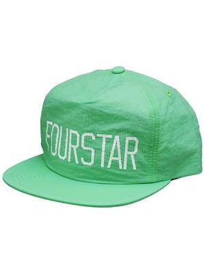 Fourstar New League Nylon Hat Lime Adjust
