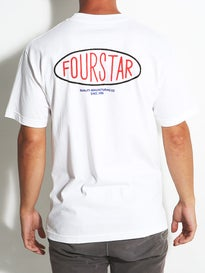 Fourstar Oval Type T-Shirt