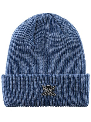 Fourstar Pirate Fold Beanie Heather Blue